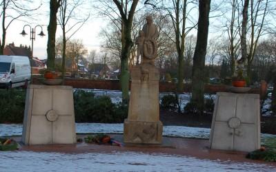 Kriegerdenkmal in Lathen verunstaltet