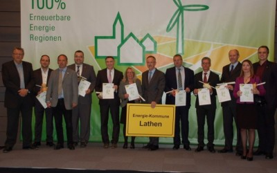 Samtgemeinde Lathen ist Energie-Kommune des Jahres