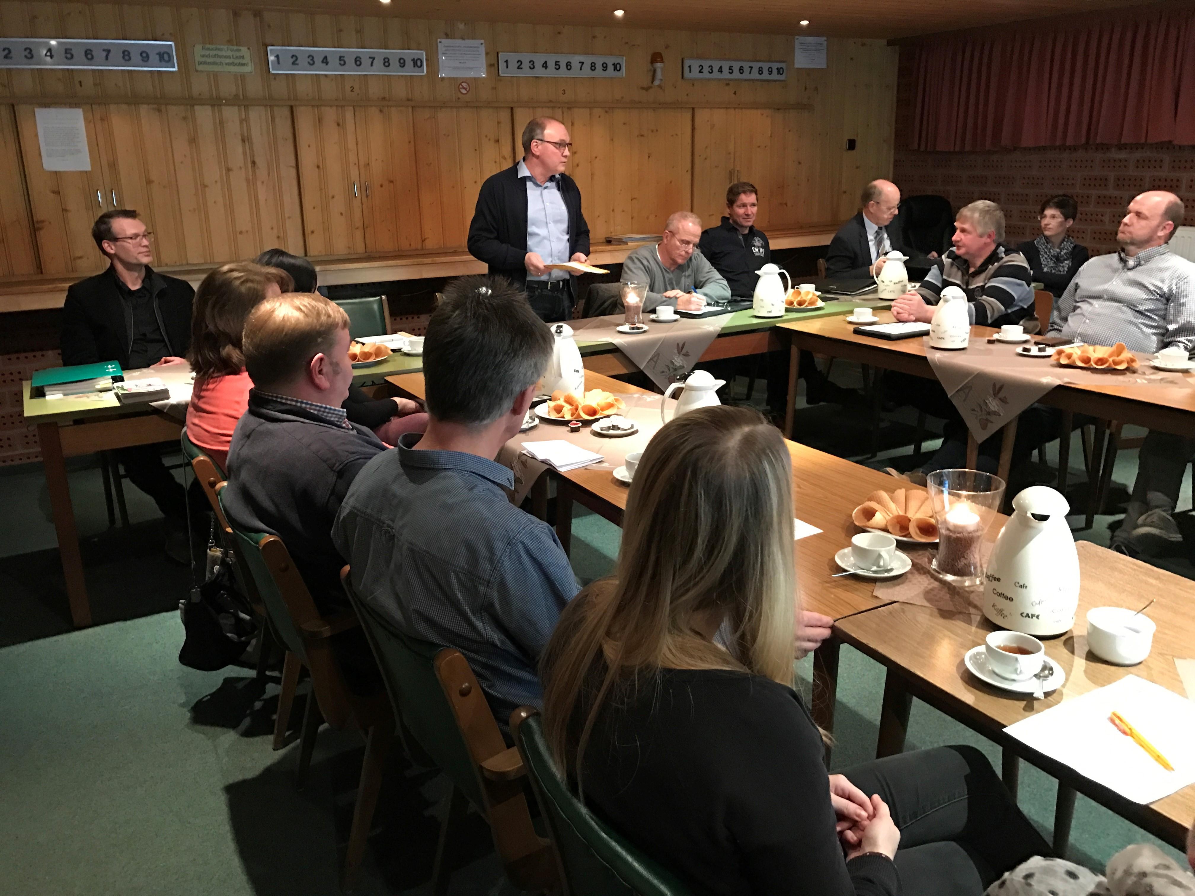 1. Sitzung des Arbeitskreises Dorfentwicklung Fresenburg-Renkenberge