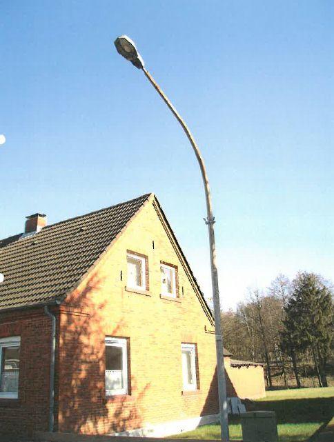 Straßenbeleuchtung Wassermühlenstraße – Umstellung auf LED