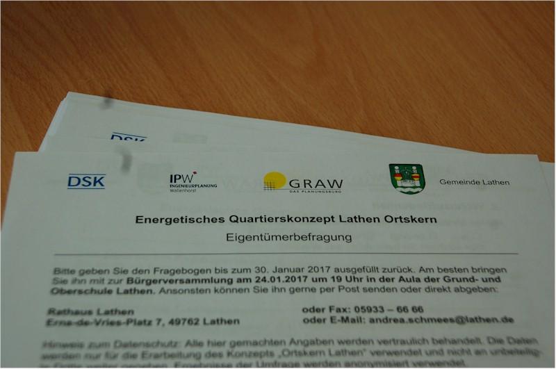 Energetische Quartierssanierung Lathen – Bürgerversammlung