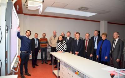 Gitta Connemann besuchte Schulzentrum in Lathen