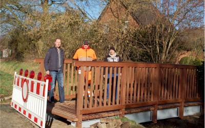 Neue Brücken in Dünefehn