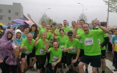 Lathen gut vertreten beim 3. Yangling Marathon