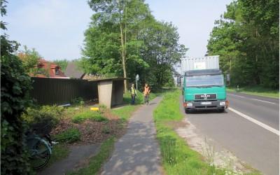 Erneuerung der Bushaltestelle an der Sögeler Straße