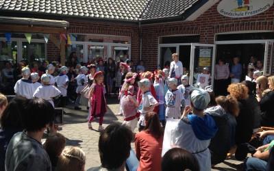 Ritterfest an der Grundschule Fresenburg