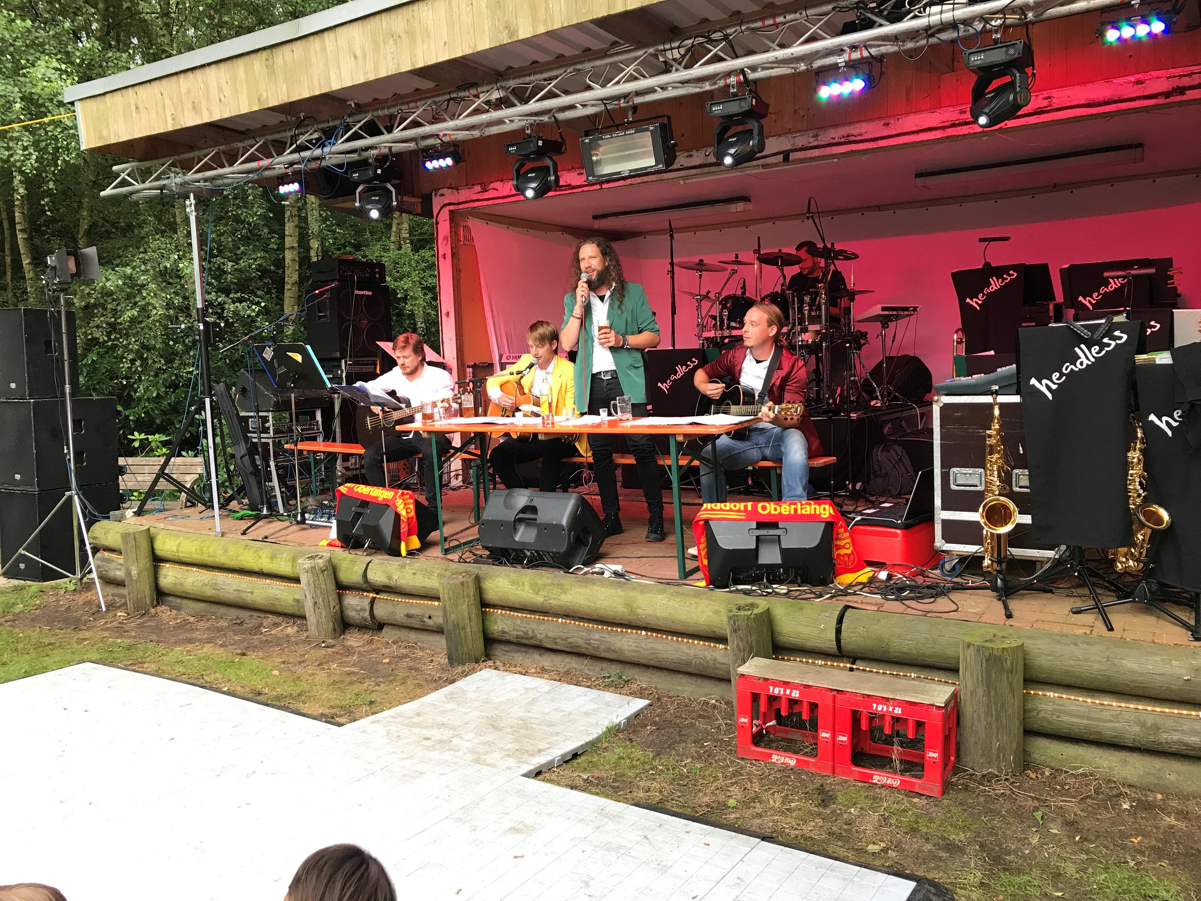 Sommerfest im Garten der Gastwirtschaft Weymann