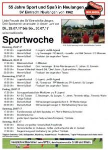 Sportwoche SVEN