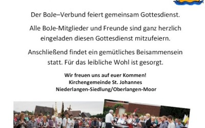BoJe-Verbundsmesse in Niederlangen-Siedlung