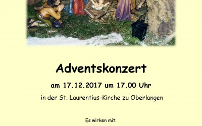 Adventskonzert in Oberlangen