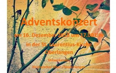 Adventskonzert in Oberlangen