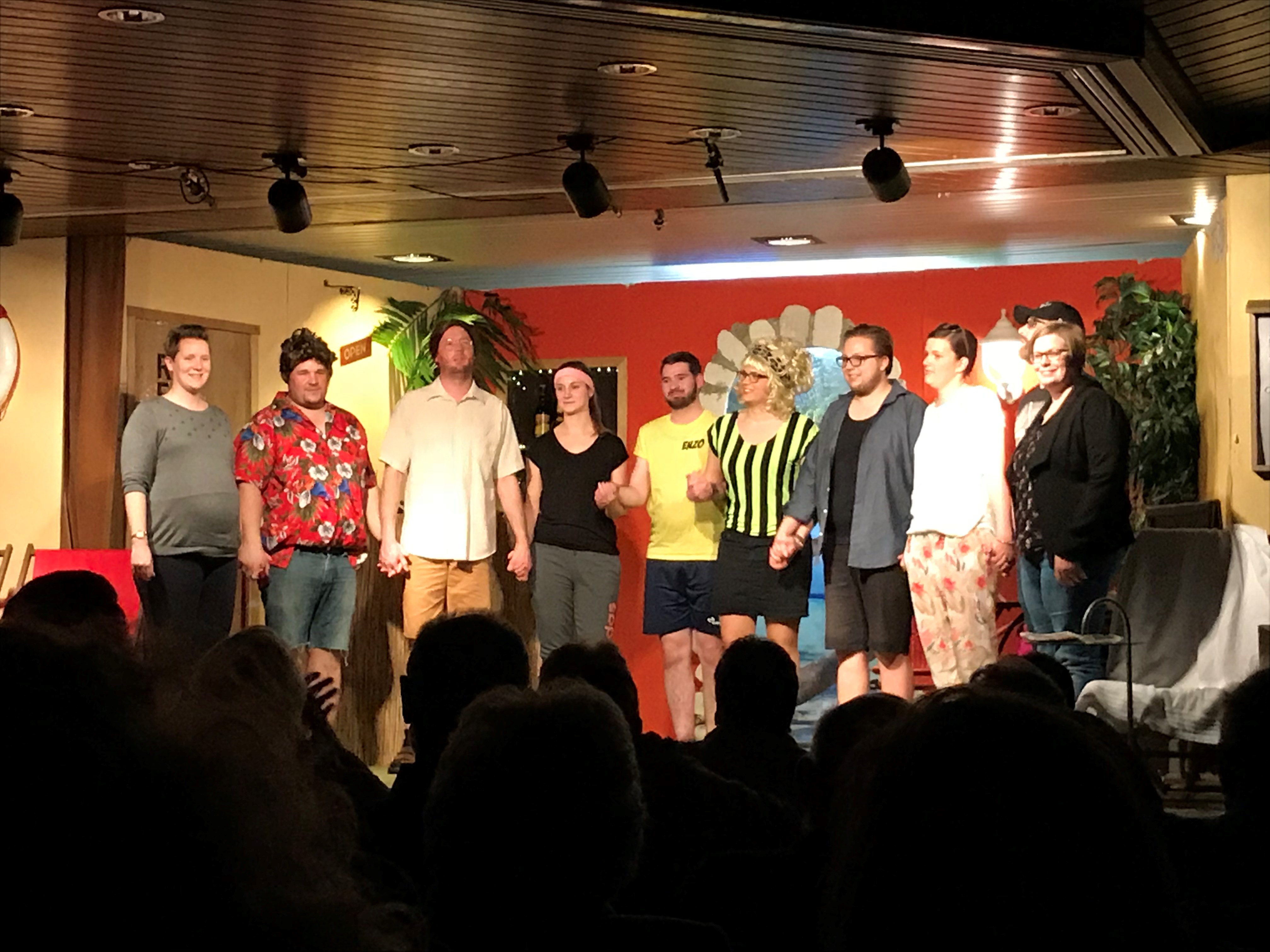 Theatergruppe Renkenberge gastiert im Haus des Gastes
