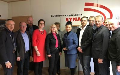 Gitta Connemann zu Gast bei der Firma Synaplast im Industriepark 31