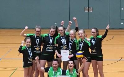 Tolle Erfolge für die Volleyballerinnen U14 und U18 des Raspo Lathen