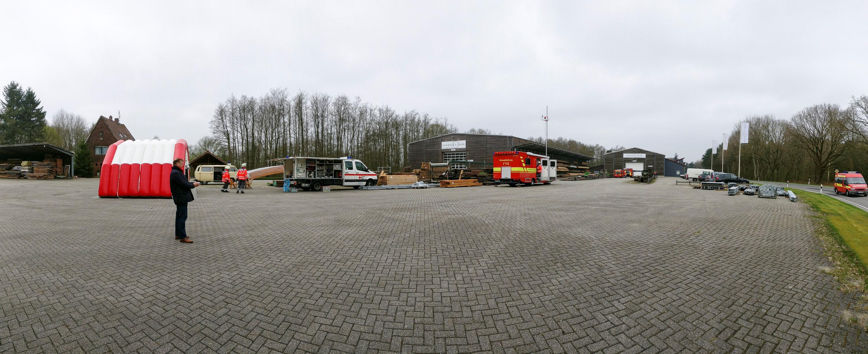 Feuerwehrübung in der Samtgemeinde Lathen