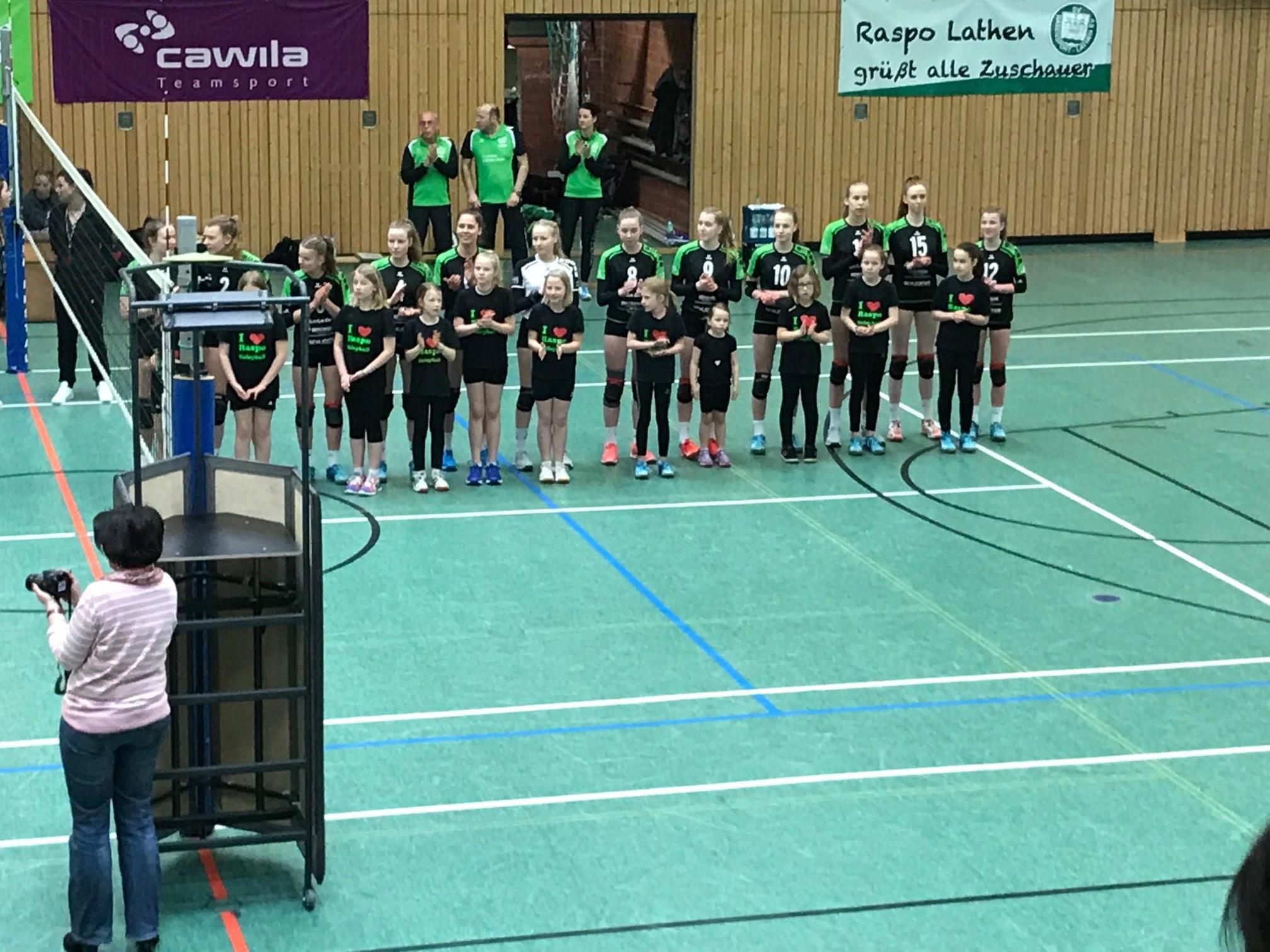 Volleyball – Damen 1 nach 12 Jahren Wiederaufstieg in die Verbandsliga!