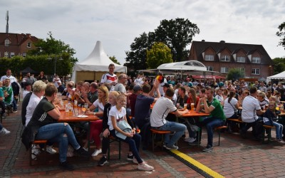 1. Lathener Bierfest und Public Viewing