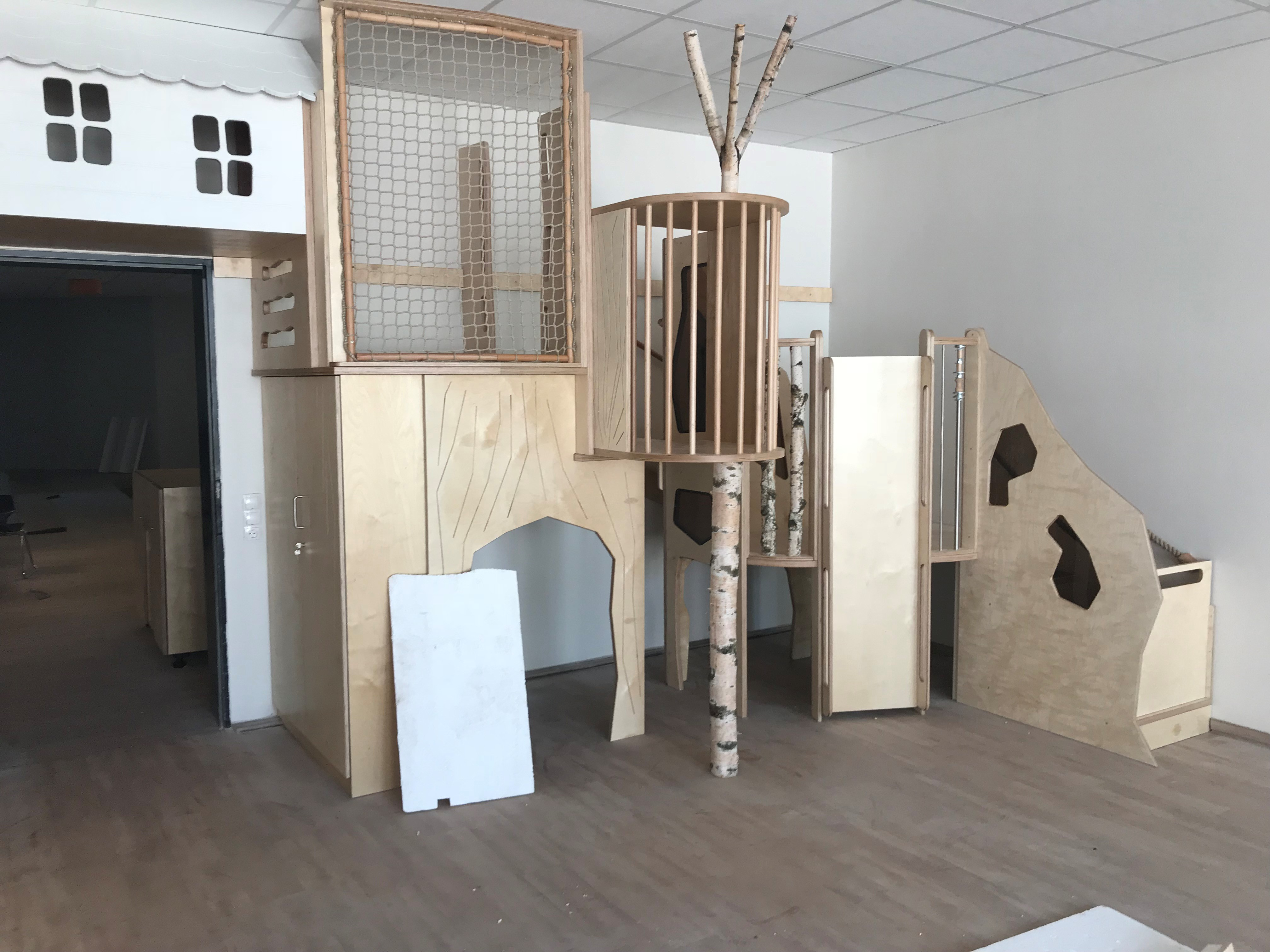 """Kleiner Einblick in die neue Kita """"Kleiner Purzelbaum"""" in Lathen"""