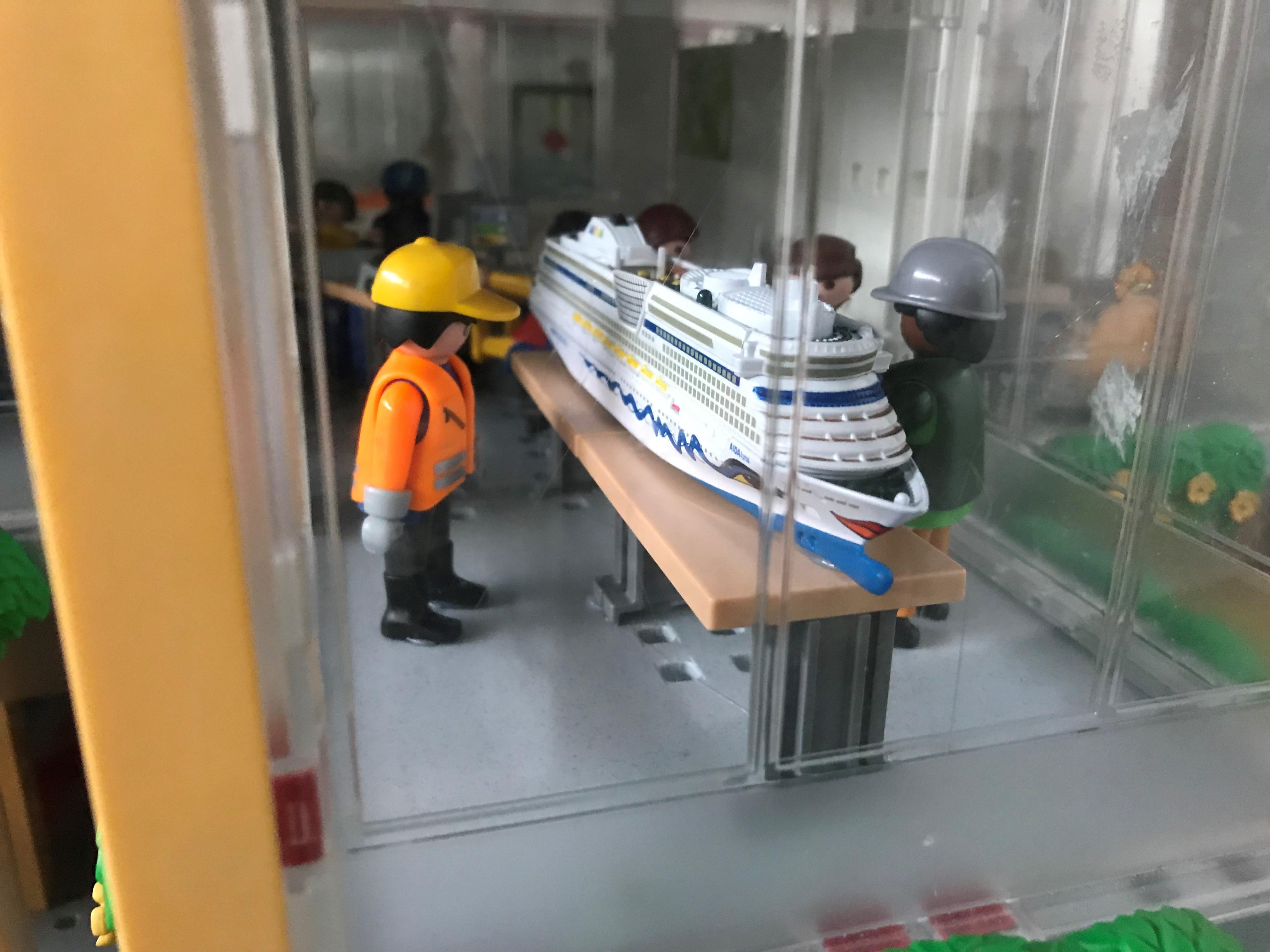 Miniwelten Lathen setzen weiteren maritimen Baustein – Während der Ferien auch Mittwochs geöffnet