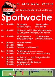 Sportwoche 2018