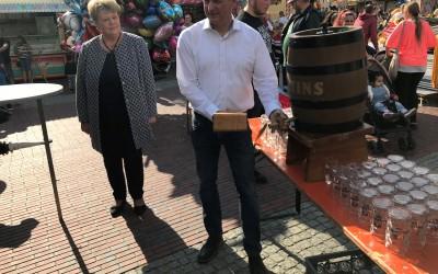 Kirmes in Lathen Eröffnung und Fassanstich