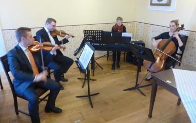 Wieder einmal: Musikalischer Leckerbissen im Bürgerhaus Alte Schule in Niederlangen