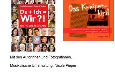Einladung zur Buchvorstellung anlässlich des Internationalen Frauentages