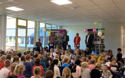 Laufen für den Schulhof – Sponsorenlauf in der Grundschule Lathen