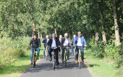 Ruf als fahrradfreundliche Region erhalten – Zwei Teilabschnitte des DEK-Premiumradwegs eröffnet