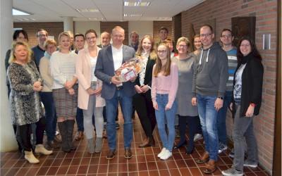Neuer Samtgemeindebürgermeister Helmut Wilkens
