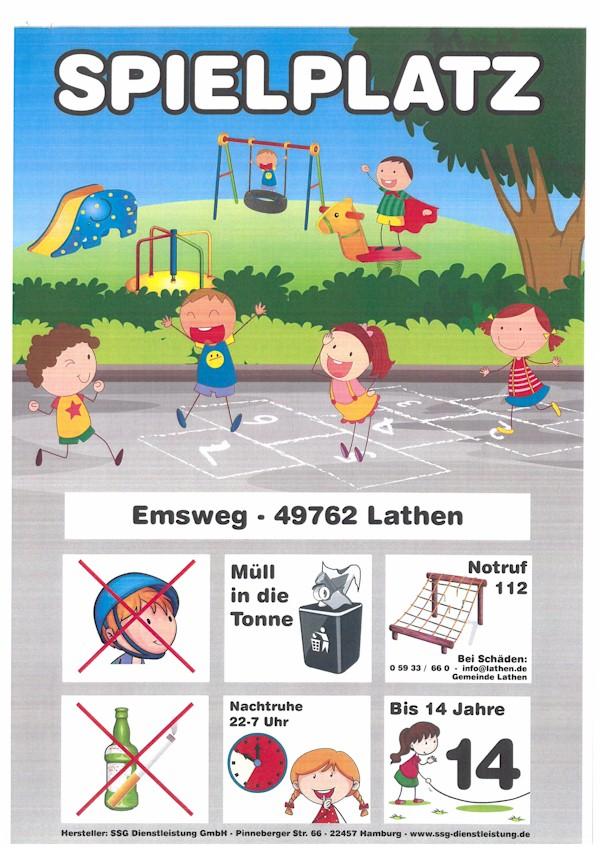 Spielplatzfreigaben in Lathen