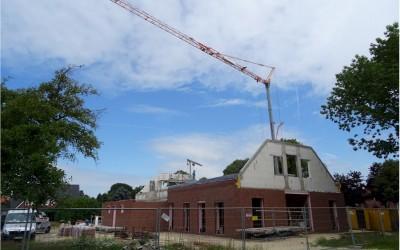 Renkenberge: Die Bauarbeiten schreiten voran