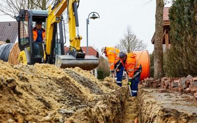 Baustart für schnelles Internet in Fresenburg