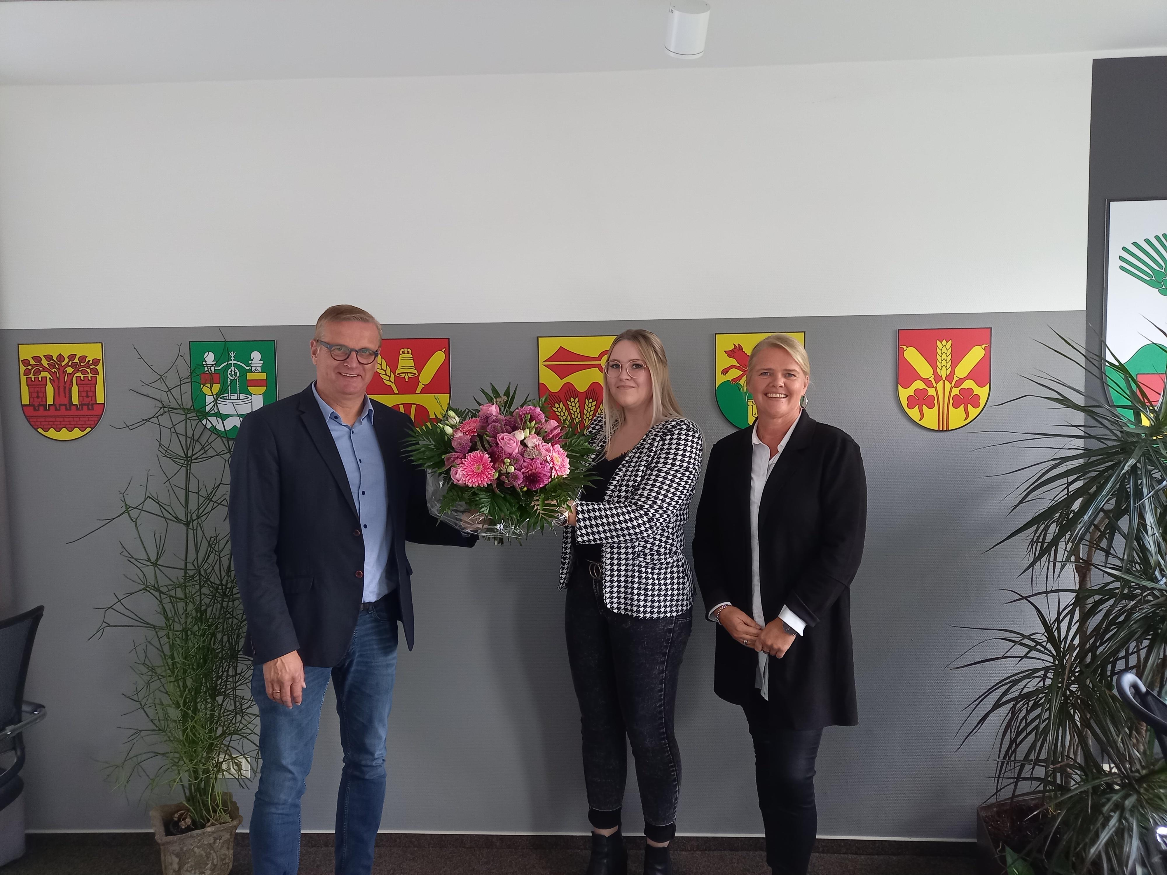 Gratulation an Julia Köder